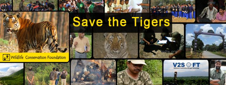 V2Soft Contributions in Wildlife Conservation Foundation