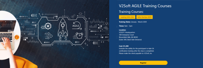V2Soft Initiates New Training on Agile SAFe
