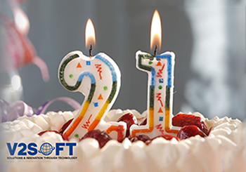 21 Years for V2SOFT Inc.