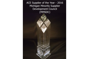 MMSDC ACE Supplier of the Year Award - 2016